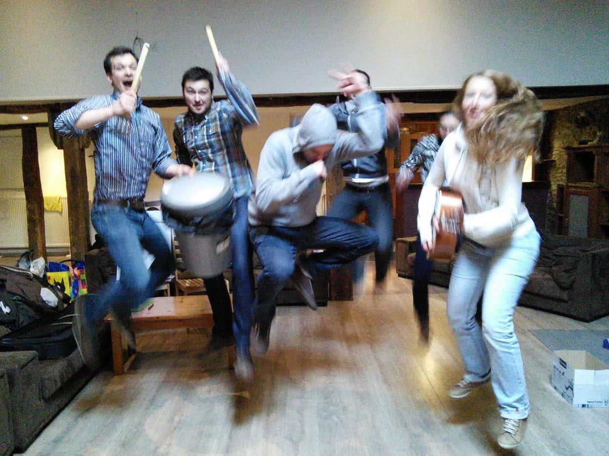 Jumping Rock Band activité modulable