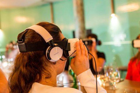 VR dining - un teambuilding dans le virtuel